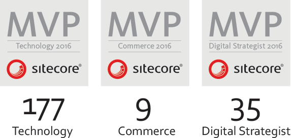 Sitecore MVPs 2016