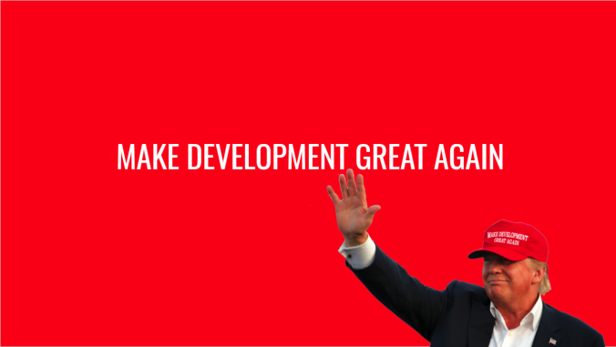 Make development great again Sitecore Jonathan Robbins